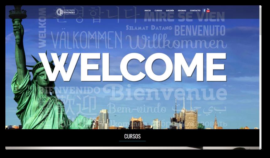 Sitio Web Centro de Idiomas